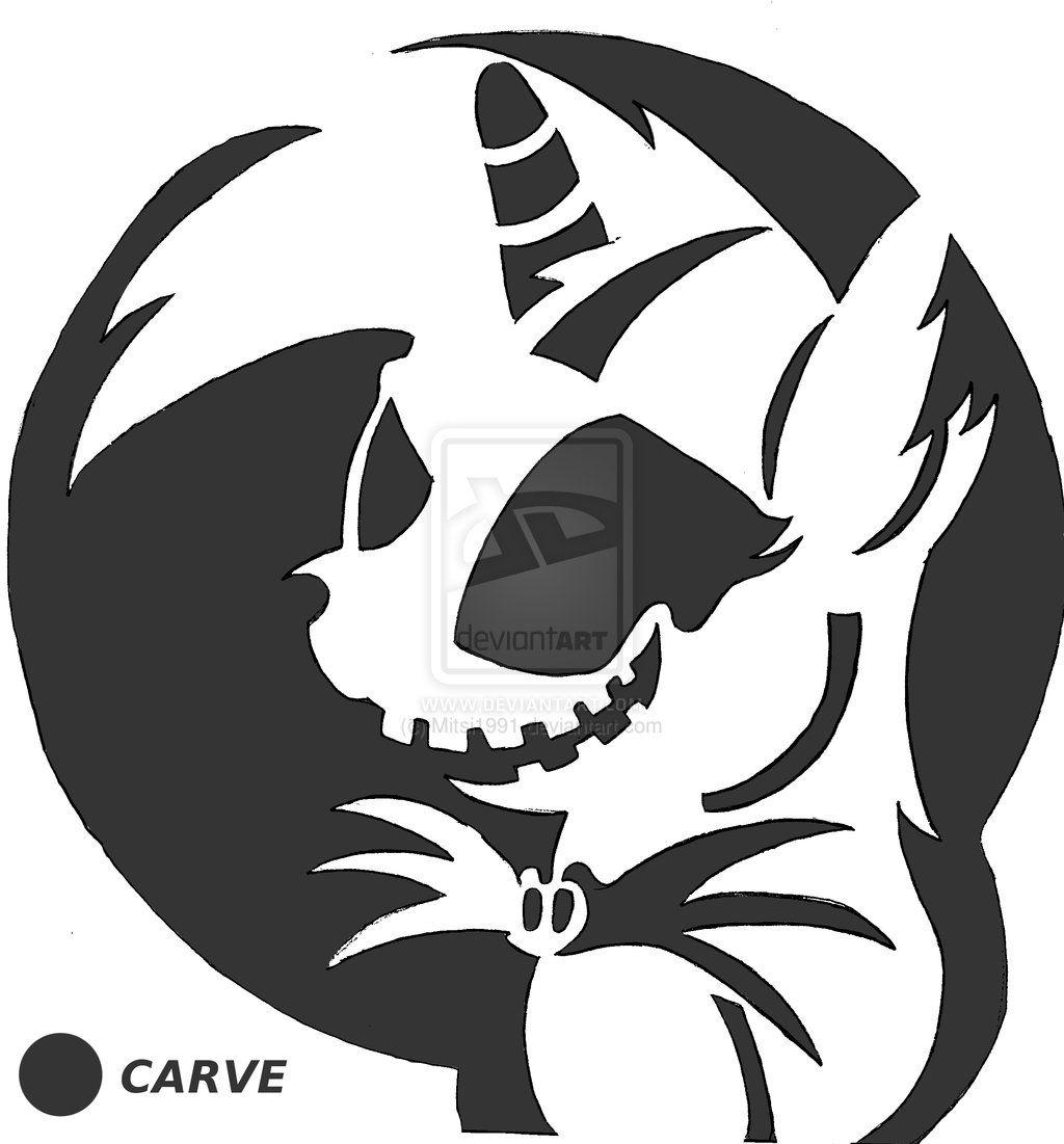 MLP: Twilight-Jack Skellington Stencil. | Pumpkin Carving Ideas ...