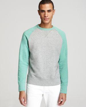 Mint sweatshirt