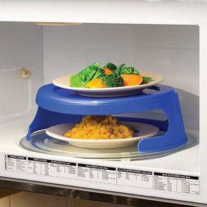 dual microwave plate holder microwave