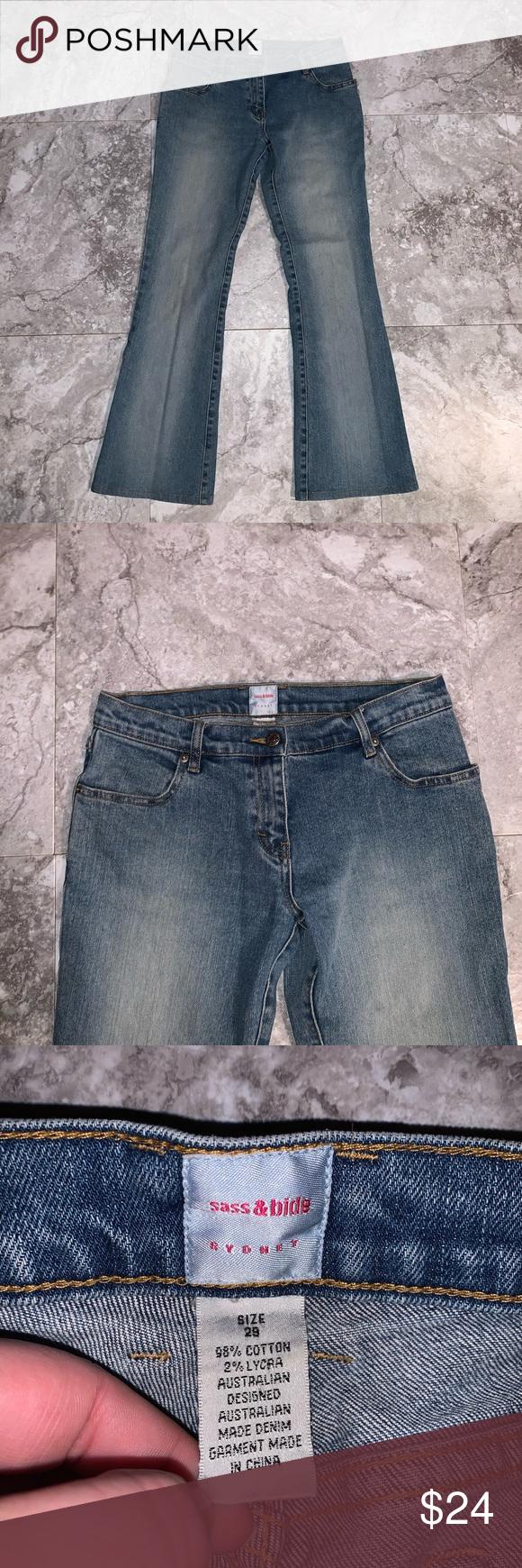 Sass Bide Jeans Sass Bide Women Jeans Fashion