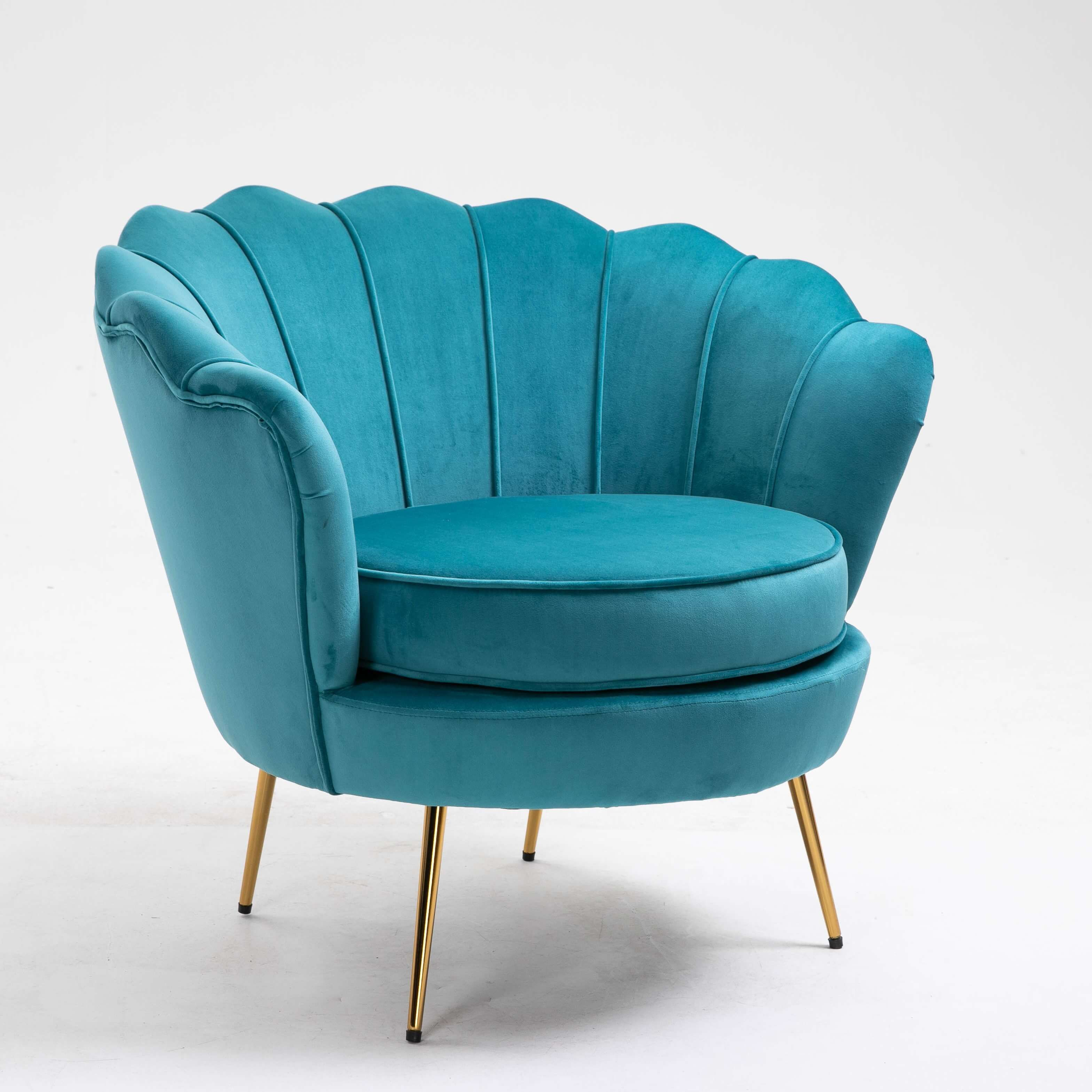 Hooseng Flower Armchair In 2021 Barrel Chair Single Sofa Chair Upholstery Accent Chair