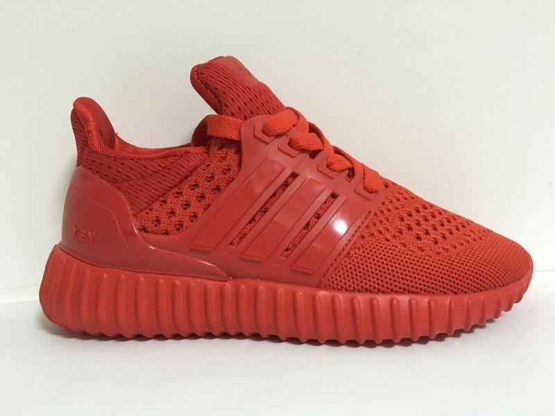 f30b8ae3b ... official store feb shoes 2017 kids adidas yeezy ultra boost solar red  1db72 ba429