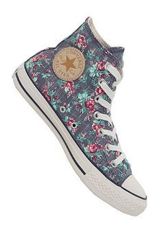 96eafe65ee CONVERSE Womens Chuck Taylor All Star Hi Canvas dark denim | This is ...