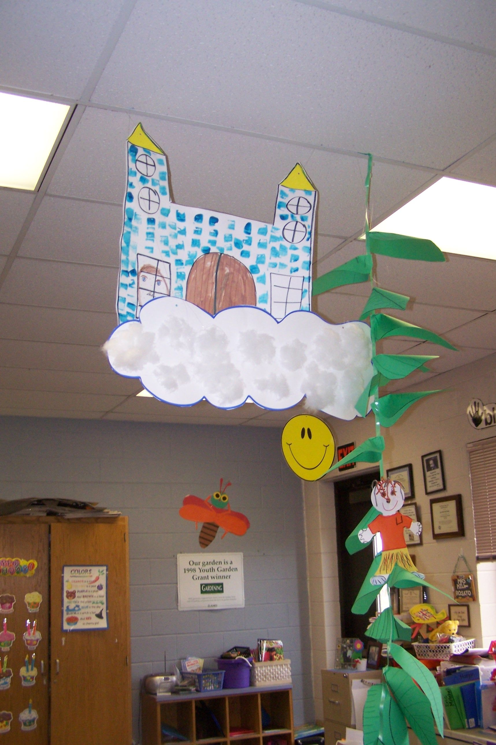 Jack And The Beanstalk Made By Kindergarten Students