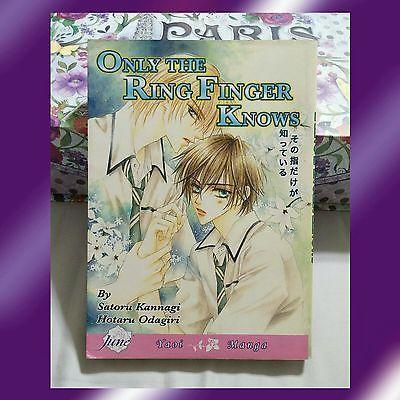 ***SOLD*** Only the Ring Finger Knows by Satoru Kannagi & Hotaru Odagiri - yaoi BL manga