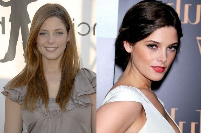 ashley greene nose job plastic surgery pictures nose job