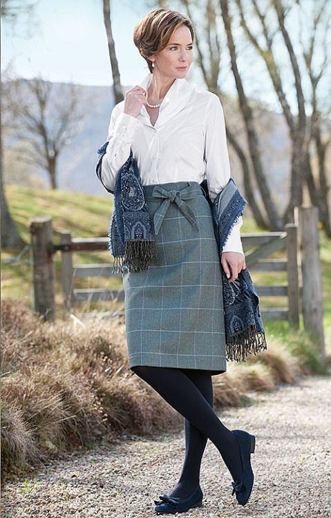 Mature british women plaid skirt idea