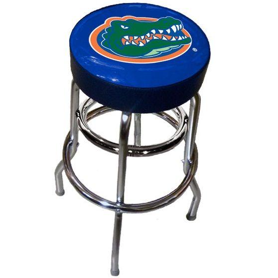 Florida Gator Logo Bar Stool