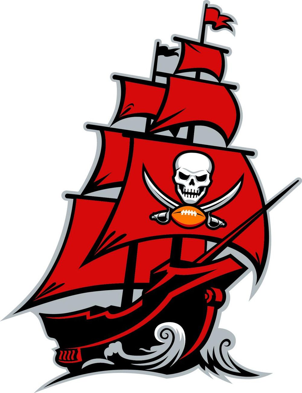 New Logo Identity And Helmet For Tampa Bay Buccaneers