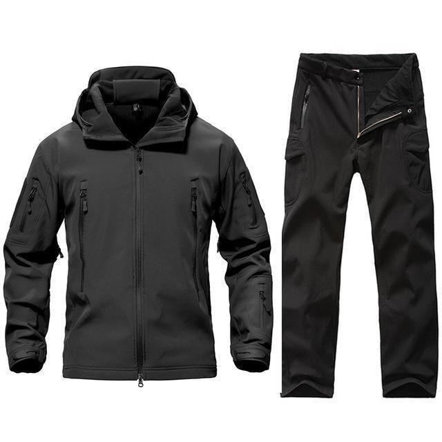 HOWON Mens Waterproof Ski Jackets Winter Windproof Hooded Mountain Fleece Outwear