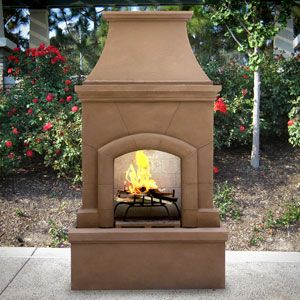 Wonderful The Coppola Outdoor Fireplace Is A Beautiful, Strong And Easy To Assemble Wood  Burning Outdoor Fireplace   An Excellent Addition To Any Patio.