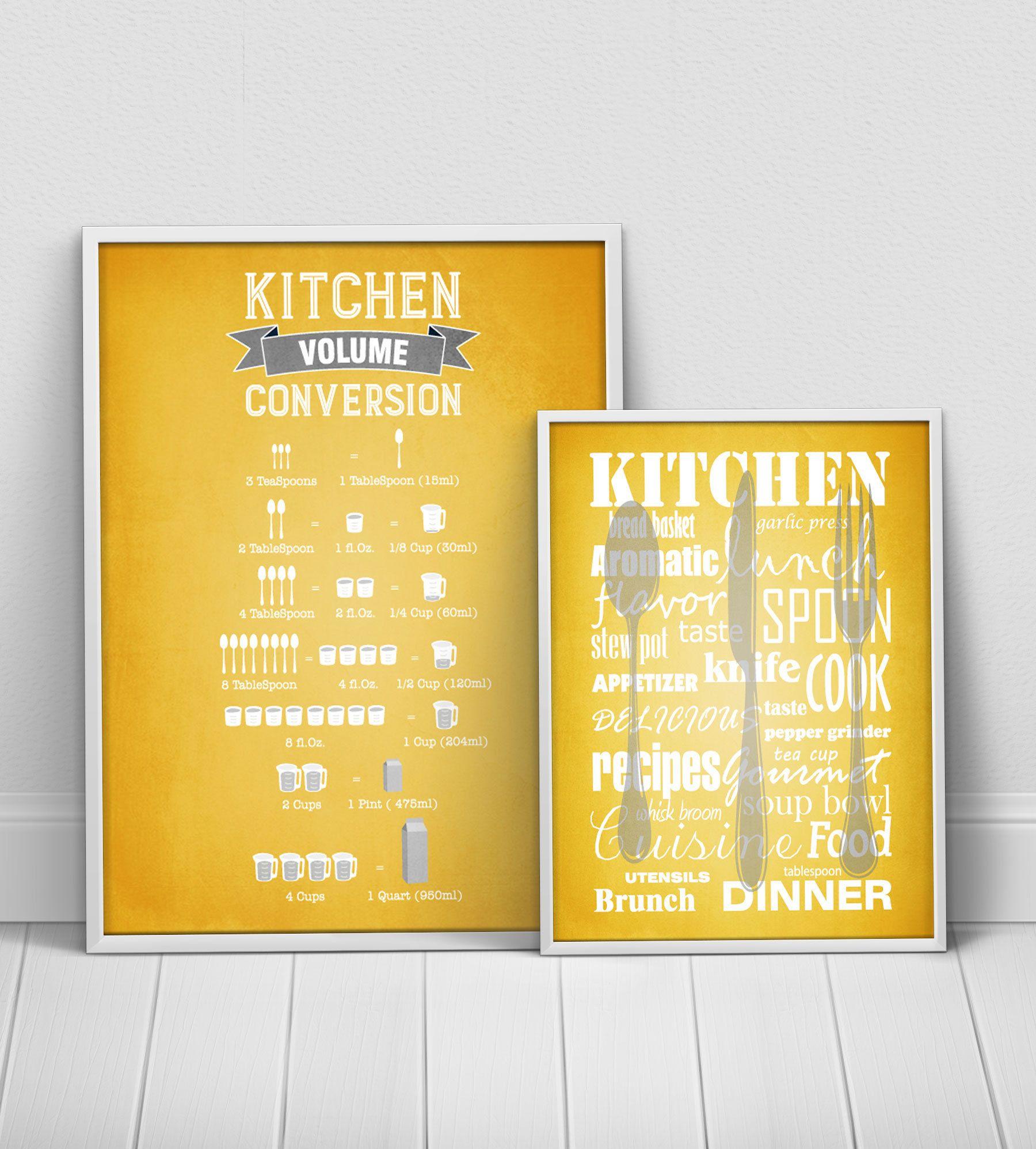 Best Mustard Yellow Kitchen Posters Set Yellow Gray Kitchen 400 x 300