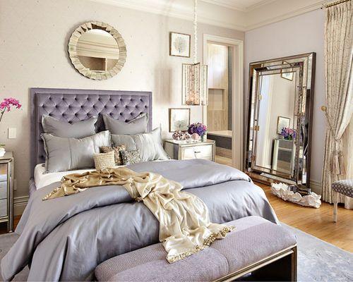 {Miss Zeit} #hollywood #glam #metallics #master #bedroom #plush