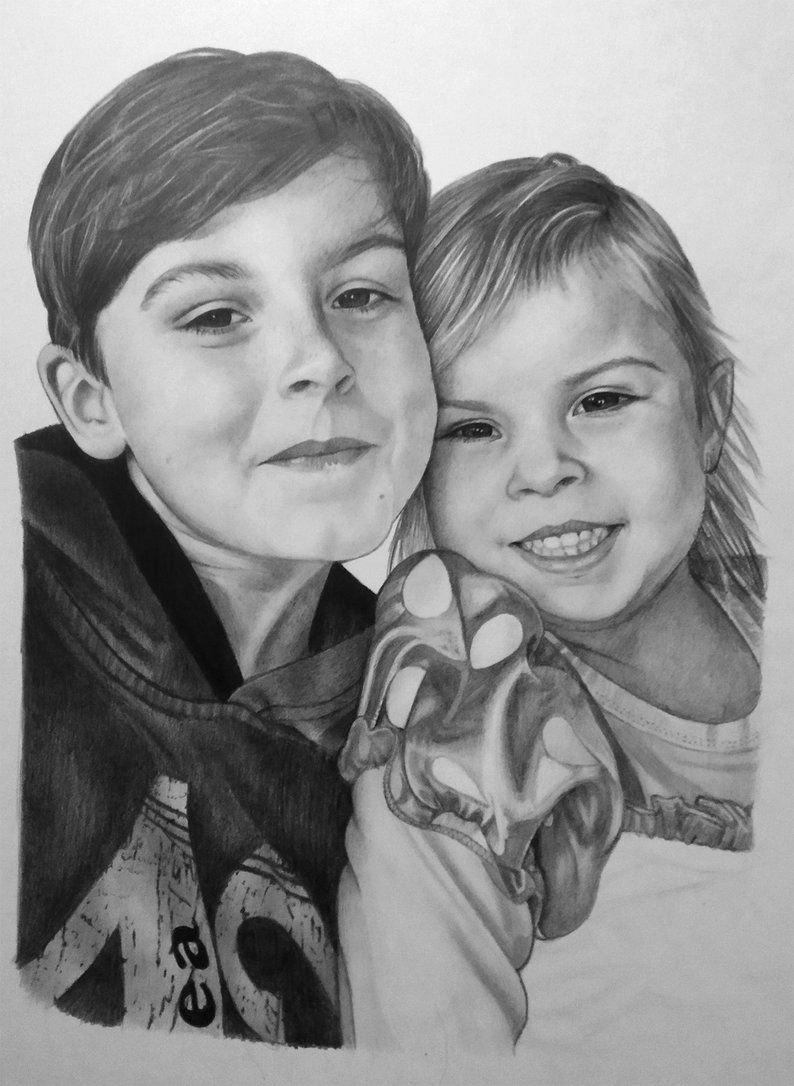 06e16e9c1cd8 I love making realistic custom art from photos. It can be a great gift for