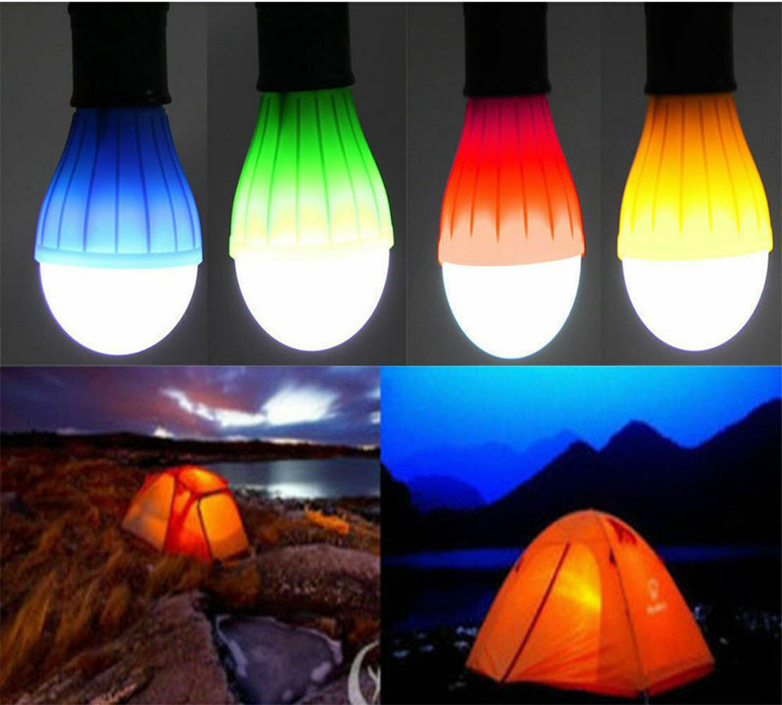 Details About 3 Led Portable Camping Tent Lamp Emergency Hiking