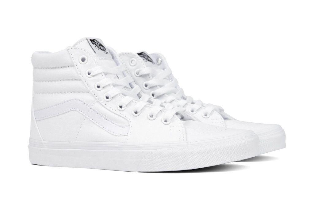 Vans Sk8-Hi - True White