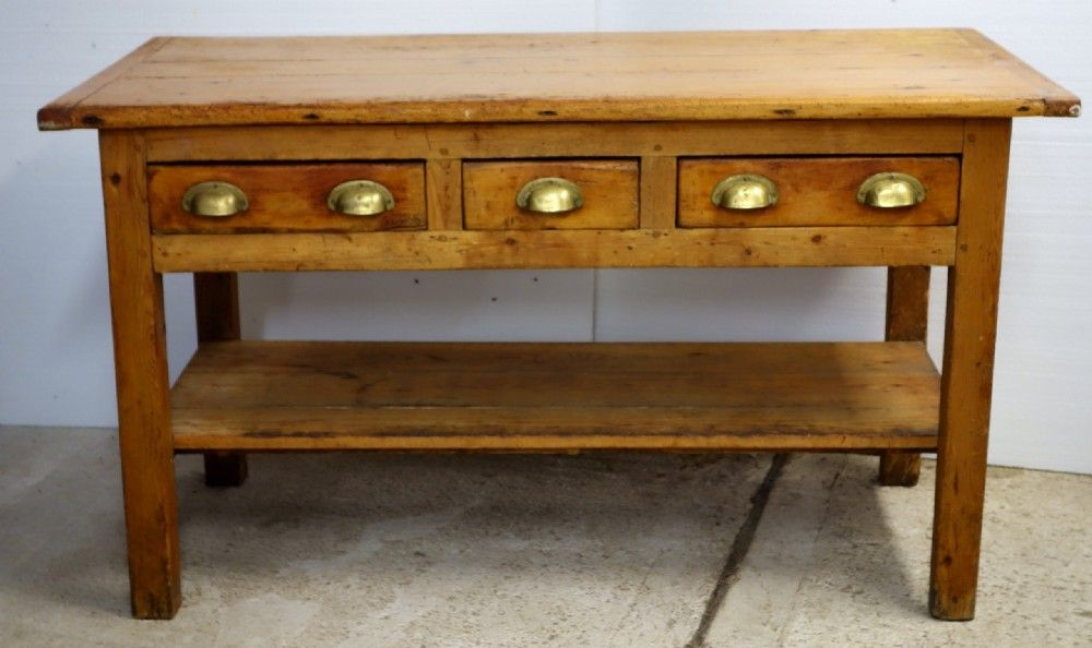 pine kitchen side table with drawers antique scullery sink   google search   antique vintage farmhouse      rh   pinterest com