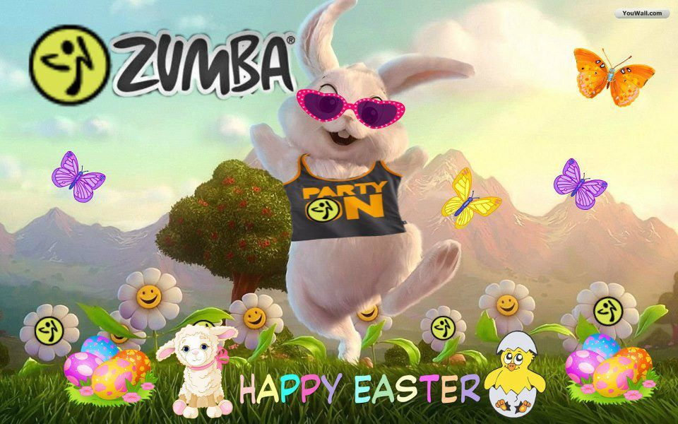 ZUMBA BUNNY ~ Spring schedule now available: redwards.zumba.com & fb.com/ZumbaFitnessWithBecky