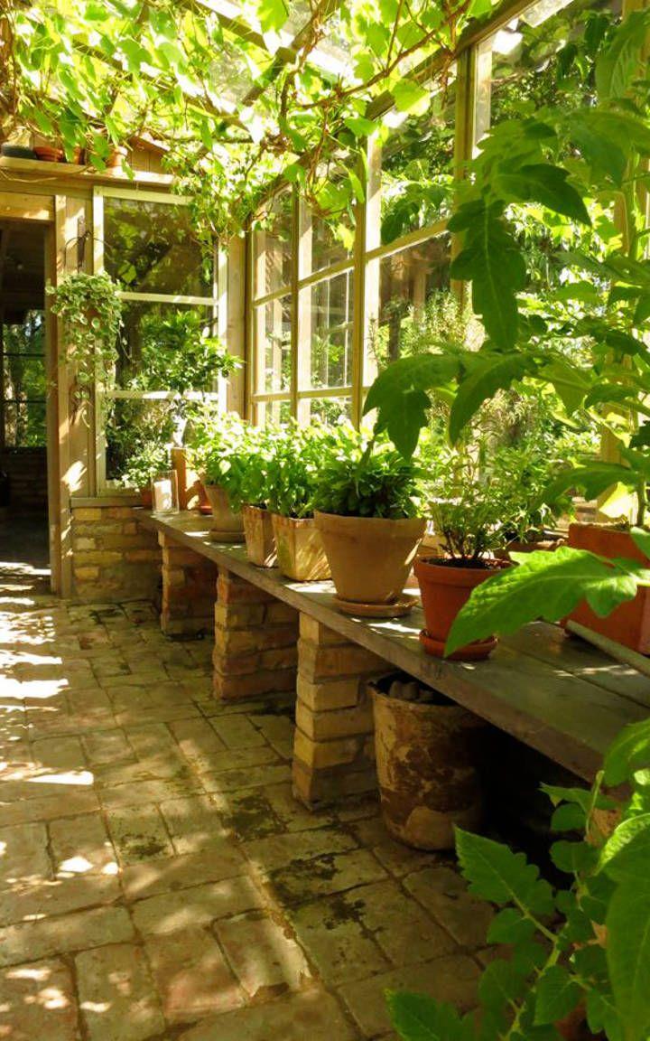 14 Beautiful Greenhouse Interior Designs Greenhouse Gardening Backyard Garden Room