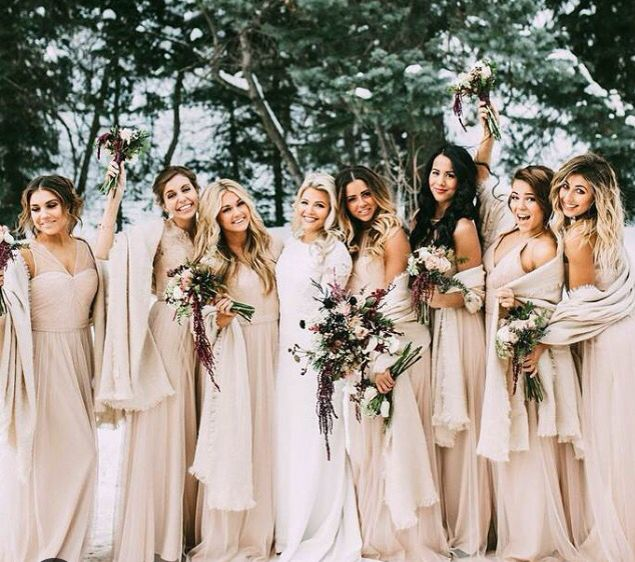 3725882aa2de1 Bridesmaid Dress Ideas For A Winter Wedding – All About The Dress A ...