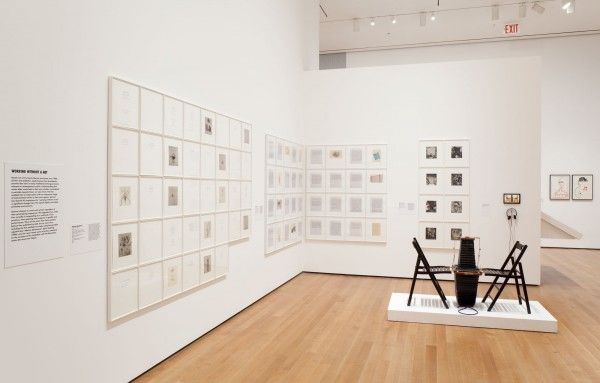 Moma Print Out Installation View 6 Installation Exhibition Design Museum Exhibition Design