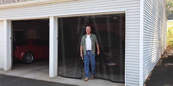 Garage Screen Curtain Jpg 600 300 Doorway Curtains Screen