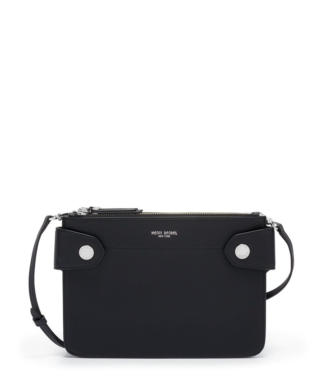 5eb7ede138c4 The Divine Crossbody by Henri Bendel is a demure leather crossbody bag that  will complement any look.