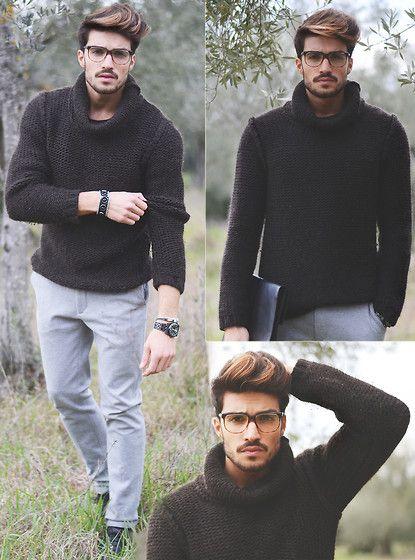 Mdv Sweater, G Sevenstars Shades, Zara Trousers, Lockman Watch