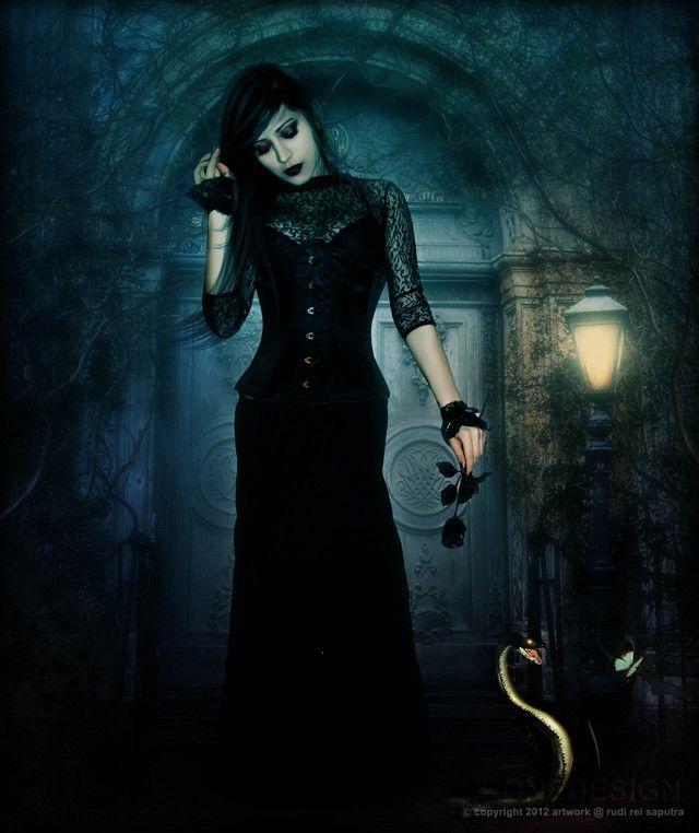 Dark Gothic Queen | Queens | Pinterest | Dark gothic ...