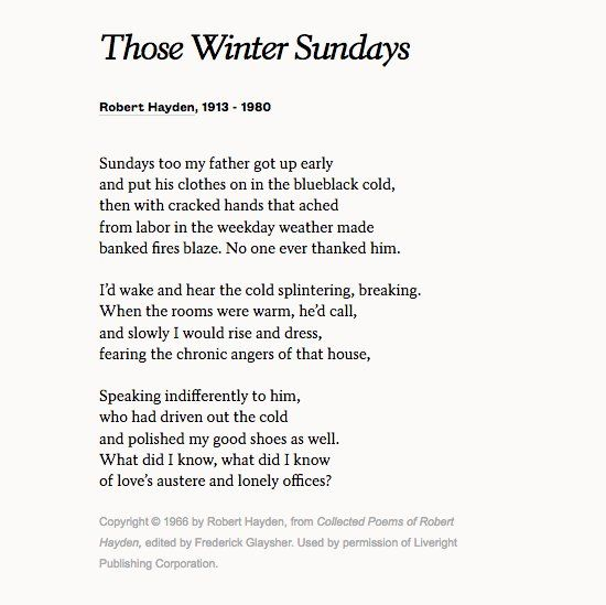 Those Winter Days One Of My Favorite Poems About Winter