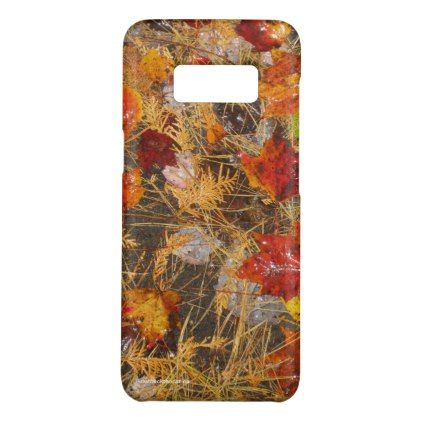 Fall carpet Case-Mate samsung galaxy s8 case - autumn gifts templates diy customize
