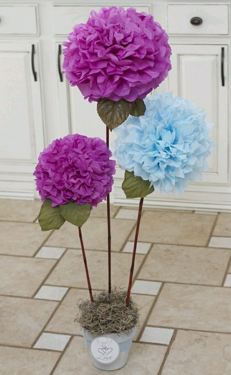 Clara Botas Homemade Decorations Pinterest Flowers Giant