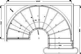 Best 5 Curved Stairs Plan In 2020 With Images Spiral Staircase Plan Stair Layout Stair Plan 400 x 300