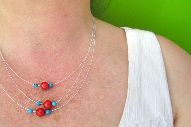 Moois van ' M(i)e': juwelen : MAAK HET ZELF : subtiele kralenketting