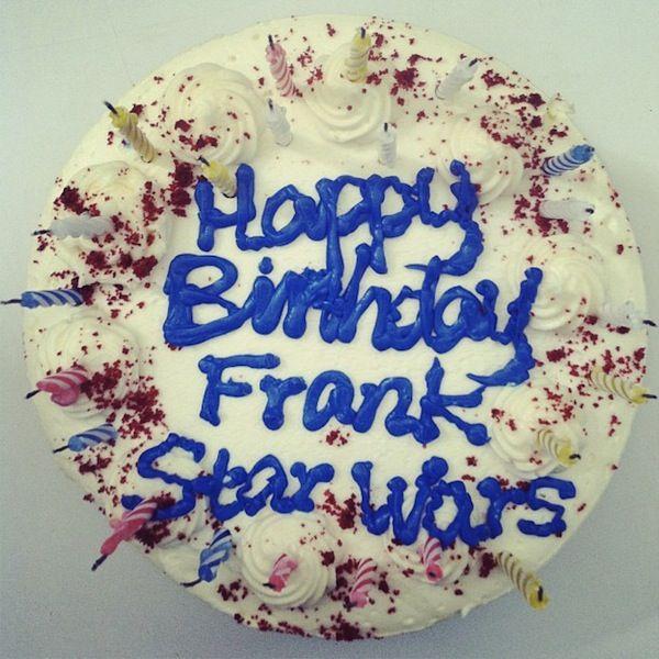The laziest Star Wars birthday cake