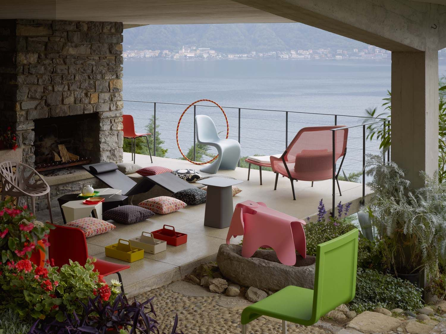 the eames elephant exploring the alps vitra design goes outdoors. Black Bedroom Furniture Sets. Home Design Ideas