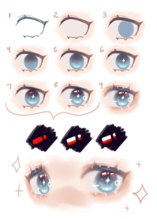 Medibang En On Twitter Anime Eye Drawing Anime Drawings Tutorials Digital Art Tutorial