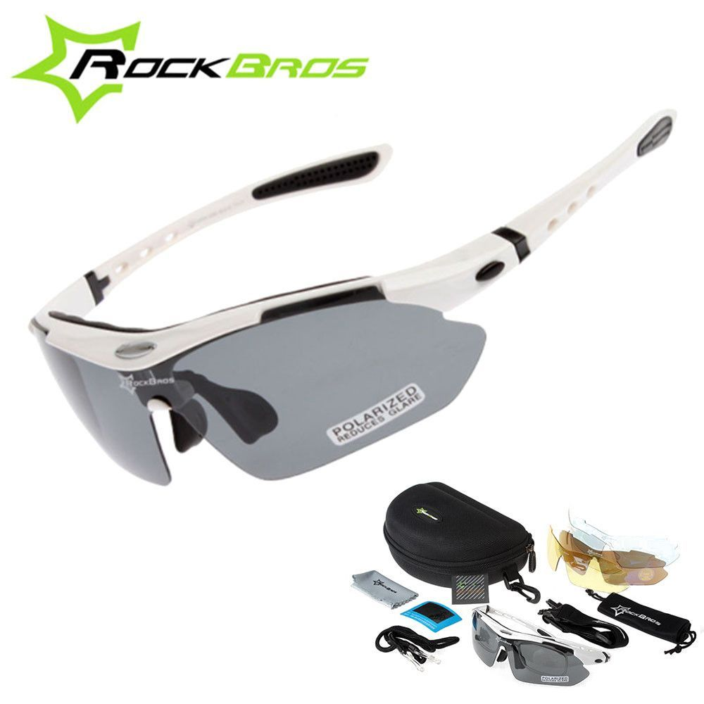 Hot! RockBros Polarized Cycling Sun Glasses Outdoor Sports