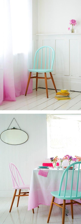 Grünes esszimmer design efeito ombré muda a cara da sua casa  stuhl möbel und wohnen
