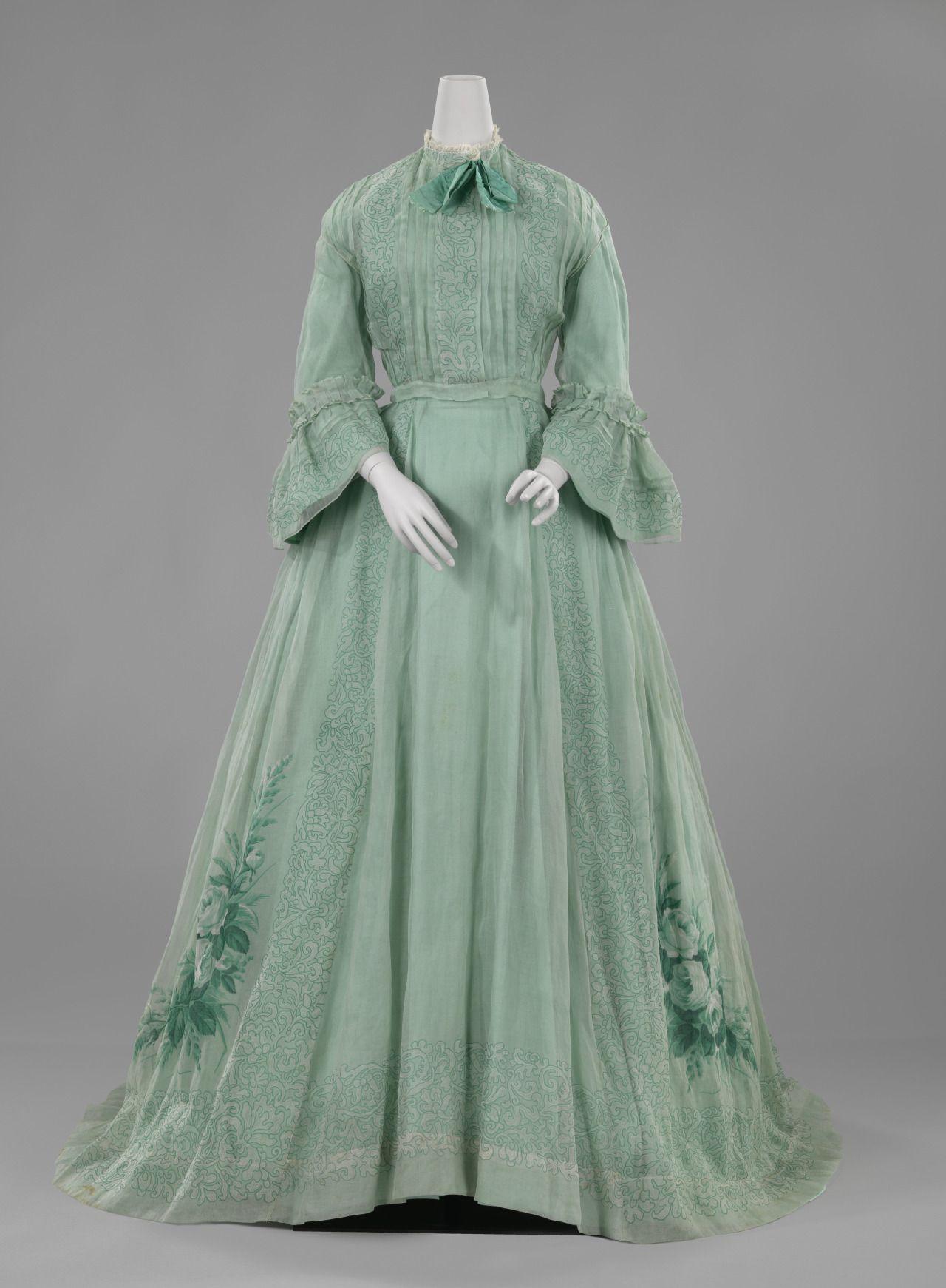 cotton, textile c. 1863 - c. 1866