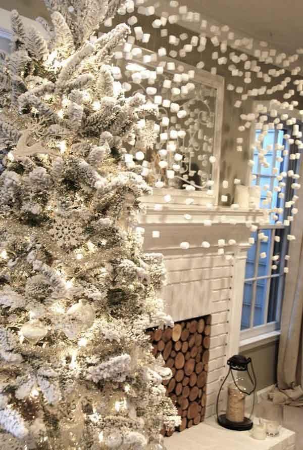 50 latest christmas decorations 2017 - White Christmas Decorations