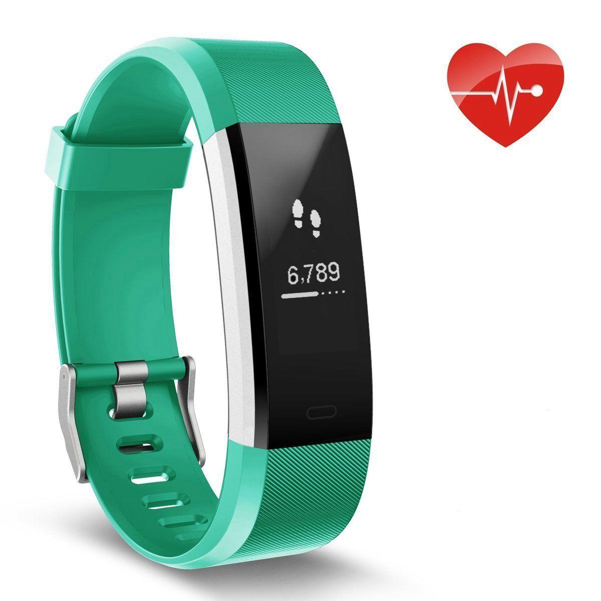 Herzfrequenz Monitor Ausun 115 Hr Plus Fitness Uhr Wasserdicht Ip67 Pulsuhren Aktivitats Tracker Mit Gps Schrittzahler Sch Fitness Armband Fitness Uhr Pulsuhr