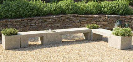 Outdoor Planter Bench Modular planterbenchfountain system contemporary outdoor modular planterbenchfountain system contemporary outdoor stools and benches unique workwithnaturefo