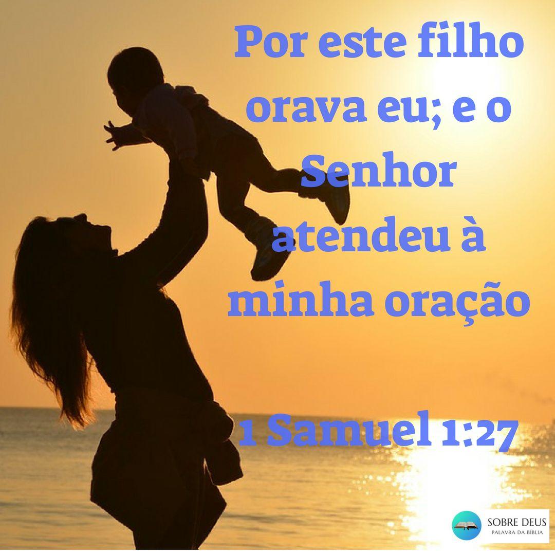 Por Este Filho Orava Eu E O Senhor Atendeu à Minha Oração 1 Samuel