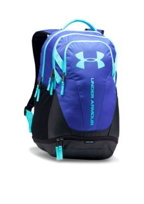 Under Armour Constellation Purple Black Blue Infinity Hustle 3.0 Backpack b250521b7a6bc