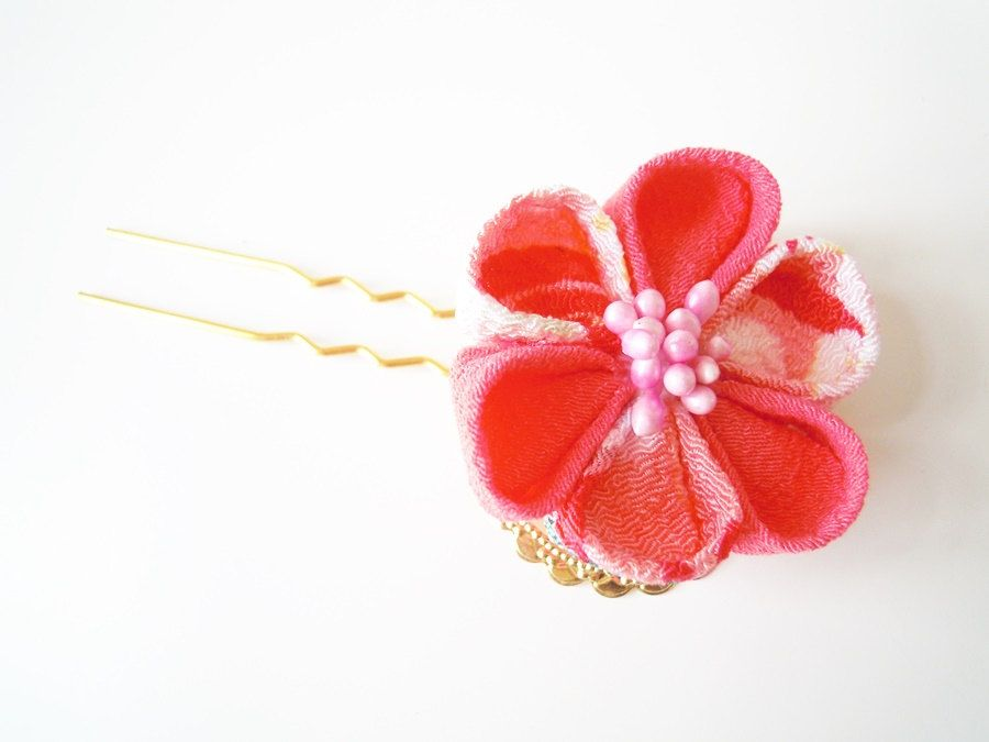 Kanzashitraditional Japanese Weddinghair Accessory Unique Gifts
