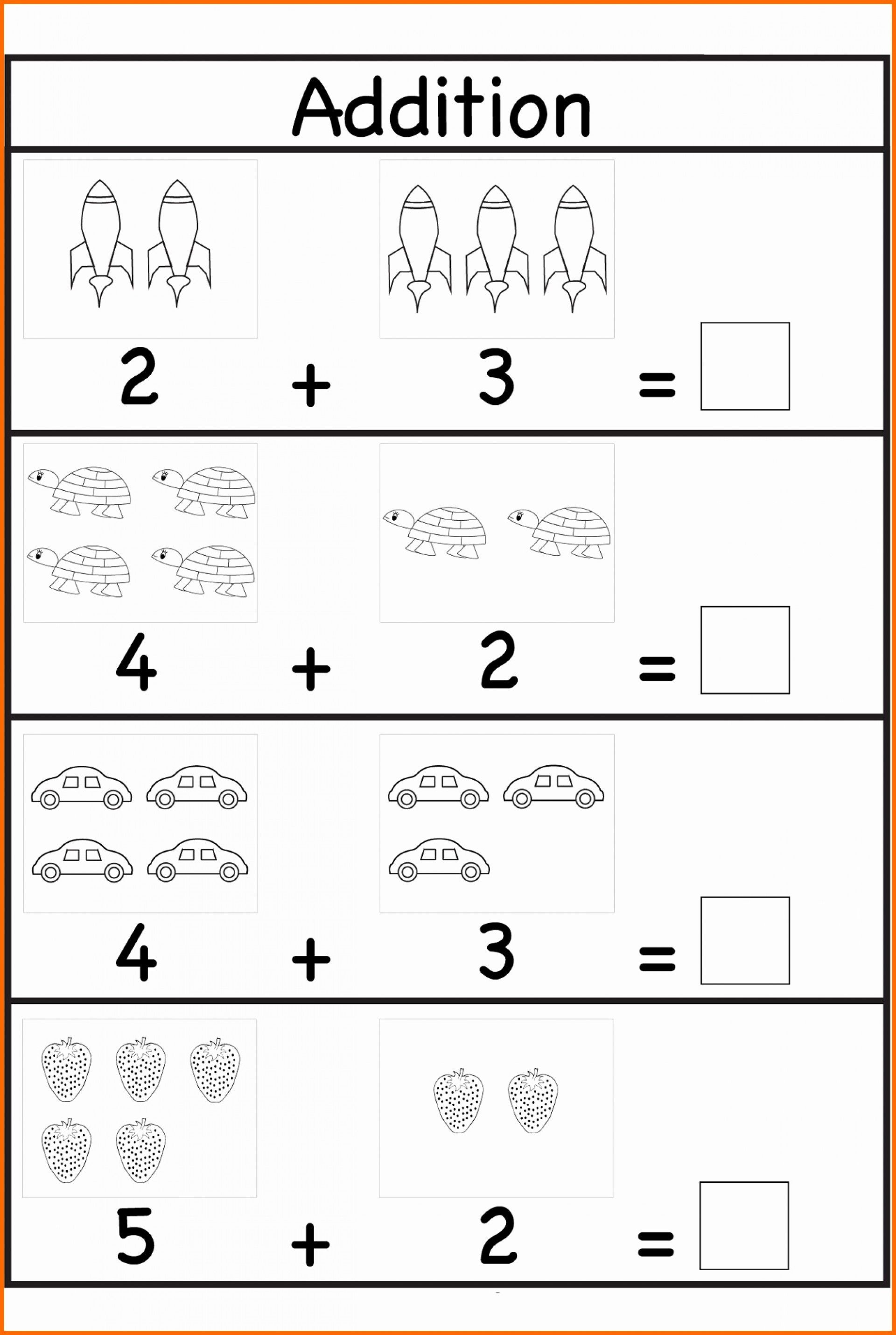 010 Free Printable Preschool Maths Worksheets Them And Try Kindergarten Addition Worksheets Kindergarten Math Worksheets Kindergarten Math Worksheets Addition