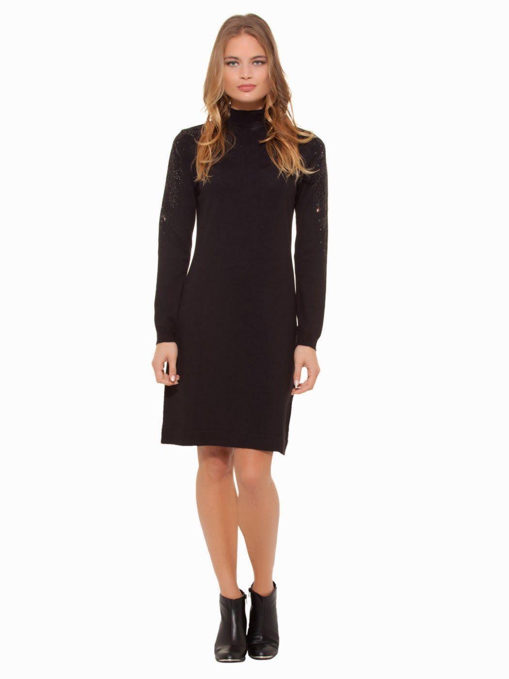 Bogazli Elbise Siyah Elbise Elbise Elbise Modelleri Siyah Elbise