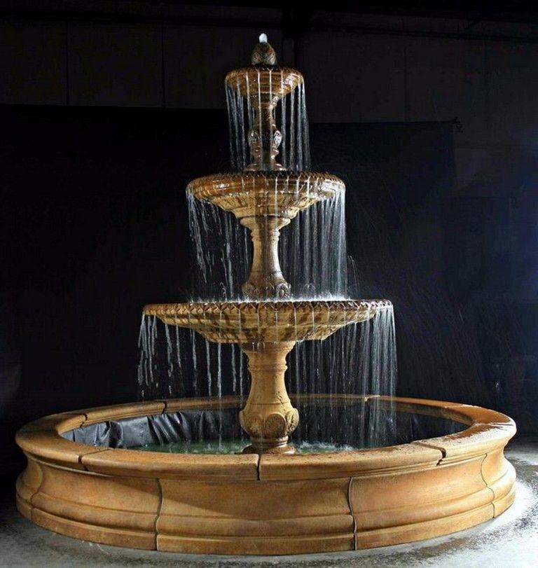 37 Good Large Outdoor Wall Fountains Design Ideas #gardening #garden