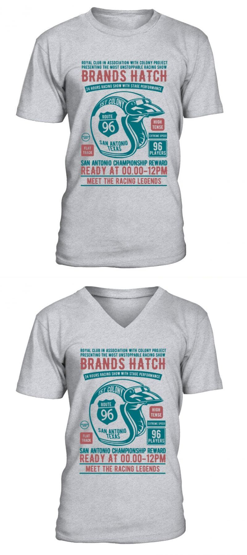Brands Hatch Racing T-Shirt Mens Tee